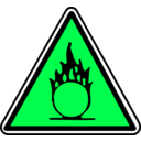 download Warning clipart image with 90 hue color