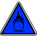 download Warning clipart image with 180 hue color