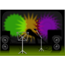 download Stage clipart image with 45 hue color