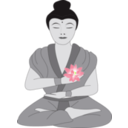 download Buddha clipart image with 45 hue color