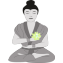 download Buddha clipart image with 135 hue color