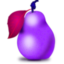 download Pear clipart image with 225 hue color