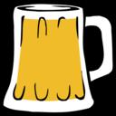 Fatty Matty Brewing Beer Mug Icon