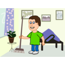 Apartment Cleaning Cartoon