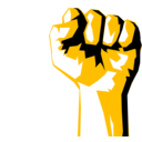 download Worker Fist clipart image with 45 hue color