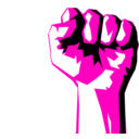 download Worker Fist clipart image with 315 hue color
