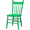 download Chair clipart image with 315 hue color