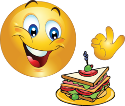 delicious smiley emoticon clipart i2clipart royalty
