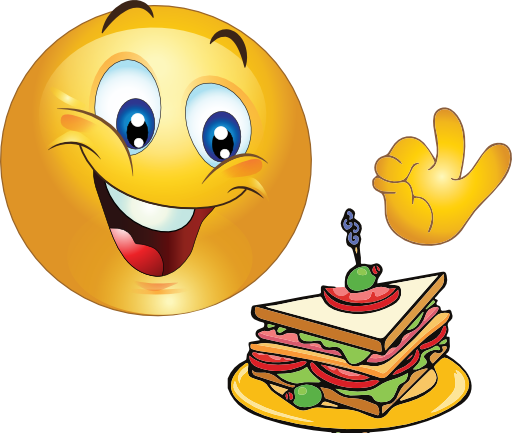 delicious smiley emoticon clipart i2clipart royalty