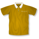 download Red Polo Shirt clipart image with 45 hue color
