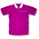download Red Polo Shirt clipart image with 315 hue color