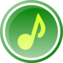 Music Icon Green 1