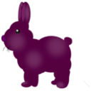 download Chocolate Bunny clipart image with 315 hue color