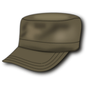 download Army Hat clipart image with 315 hue color