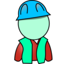 download Worker clipart image with 135 hue color