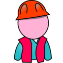 download Worker clipart image with 315 hue color