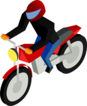 Cm Isometric Biker