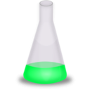 download Conical Flask clipart image with 90 hue color