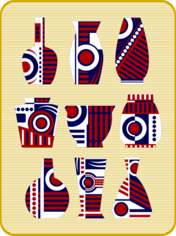 Abstract Vases Remix