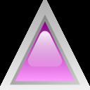 Led Triangular Purple