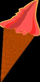 Wild Berry Ice Cream Cone