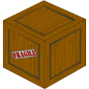 Perspective Wooden Crate