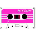download Cassette Stylised clipart image with 315 hue color