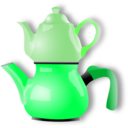 download Shiny Teapot clipart image with 90 hue color