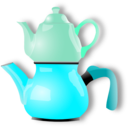 download Shiny Teapot clipart image with 135 hue color