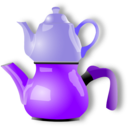 download Shiny Teapot clipart image with 225 hue color