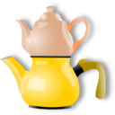 download Shiny Teapot clipart image with 0 hue color