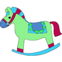 download Horse clipart image with 135 hue color