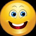 Yellow Happy Smiley Emoticon