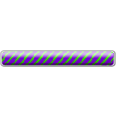 download Striped Bar 09 clipart image with 225 hue color