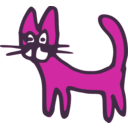 download Cat clipart image with 315 hue color