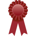 download Award Ribbon clipart image with 135 hue color