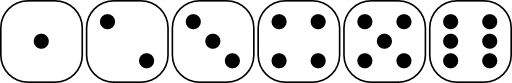 Six Sided Dice Faces Lio 01