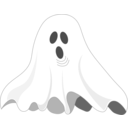 download Ghost clipart image with 225 hue color