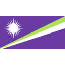 download Flag Of The Marshall Islands clipart image with 45 hue color