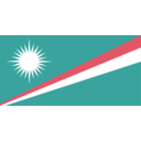 download Flag Of The Marshall Islands clipart image with 315 hue color