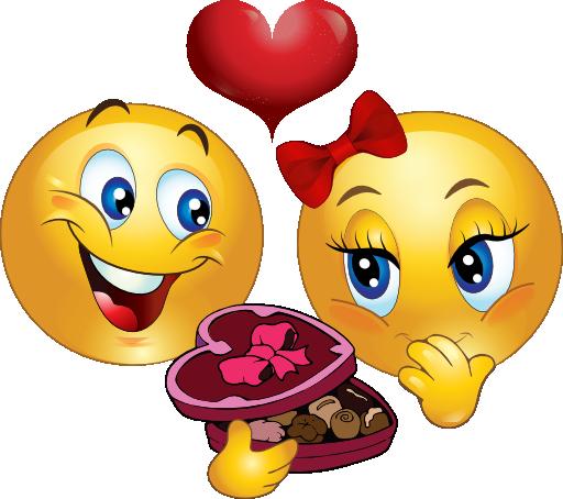 Gift Emoticon Valentine gift smiley emoticon