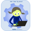 download Numu01 Laptop clipart image with 45 hue color