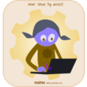 download Numu01 Laptop clipart image with 225 hue color