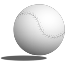download Baseball Ball clipart image with 225 hue color