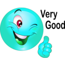 download Thumbs Up Smiley Emoticon clipart image with 135 hue color