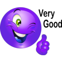 download Thumbs Up Smiley Emoticon clipart image with 225 hue color