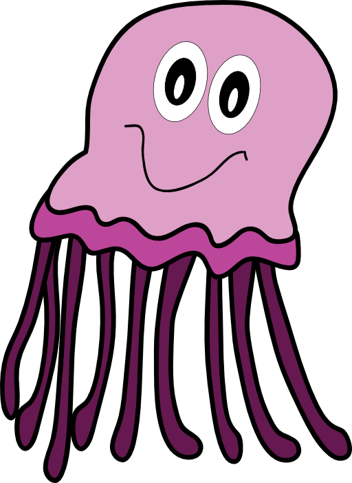 Purple Jellyfish Clipart | i2Clipart - Royalty Free Public ...
