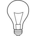 download Ampoule Light Bulb clipart image with 135 hue color