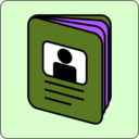 download Passport Icon clipart image with 225 hue color