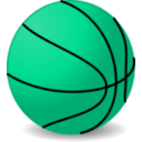 download Basketball clipart image with 135 hue color